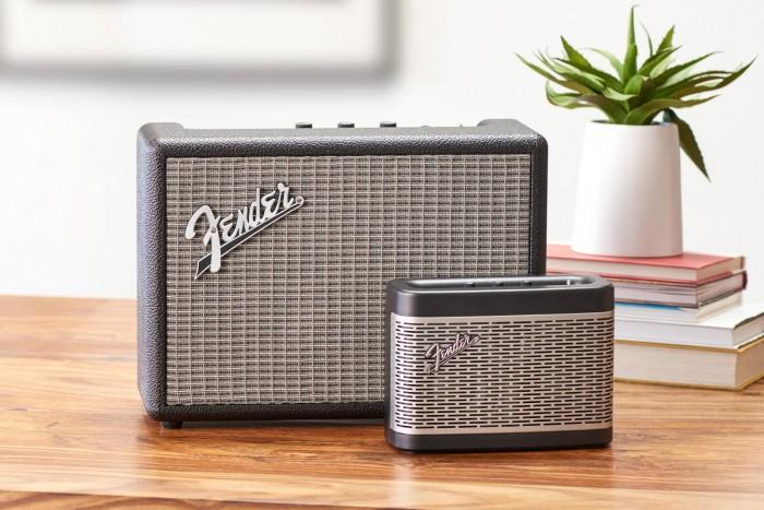 复古当道:Fender公司推出两款经典造型蓝牙音箱产品