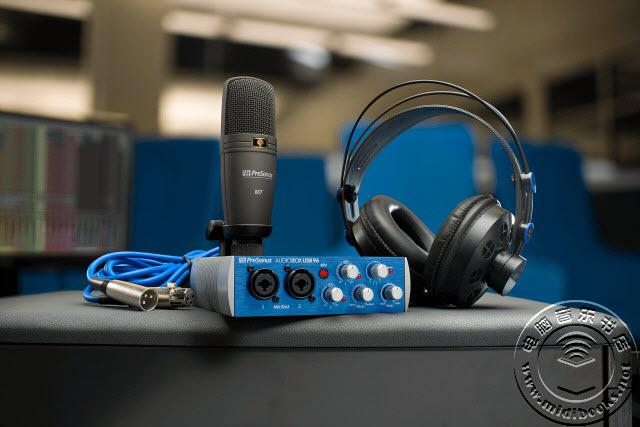 Presonus发布AudioBox USB 96 音频接口(视频)