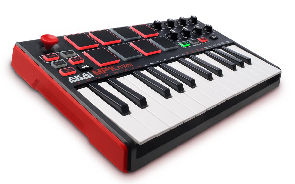 Akai MPK mini MKII 键盘控制器中文用户指南本站独家发布