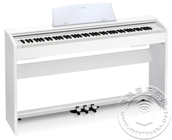 [2017年夏季NAMM展会新闻]:CASIO(卡西欧)发布AP-270、Privia PX-770和PX-870数码钢琴
