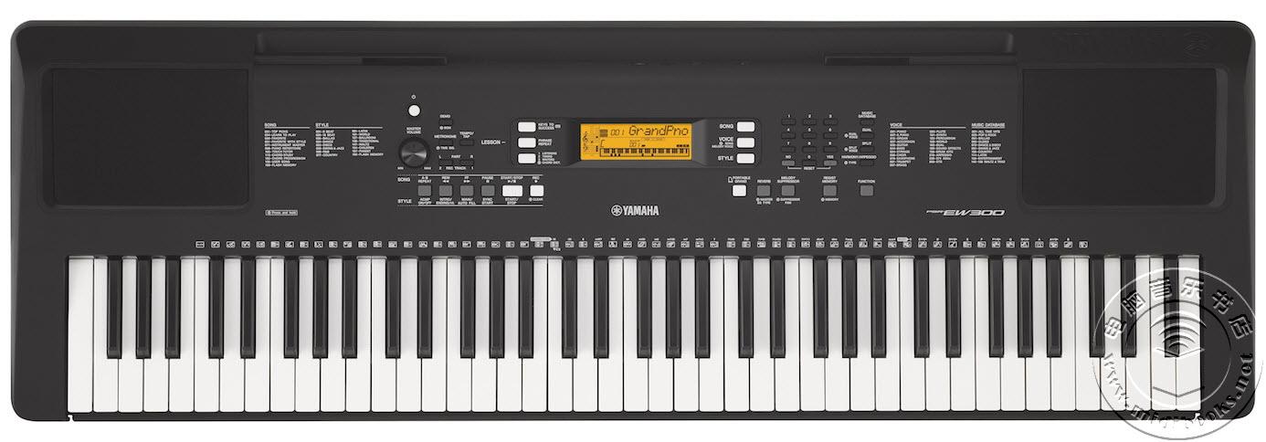 [2017年夏季NAMM展会新闻]:YAMAHA介绍 PSR-EW300 76键编曲键盘