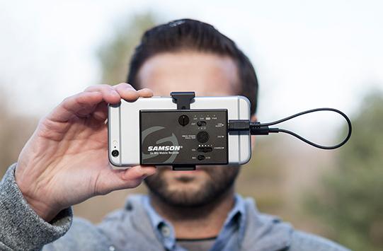 Samson(山讯)发布 Go Mic Mobile 移动无线录音系统