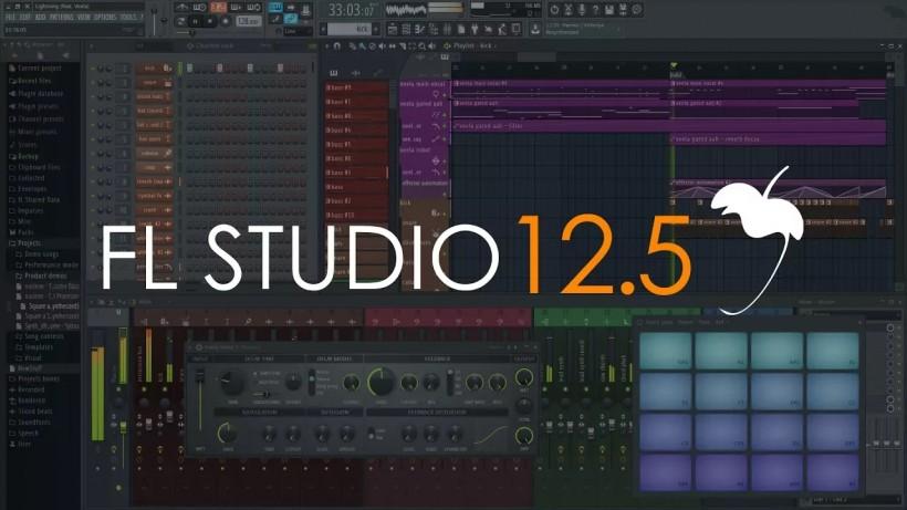 Image-Line 正式发布 FL Studio 12.5 大更新,macOS 原生版同期更新
