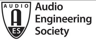 美国音响工程学会(AES)简介