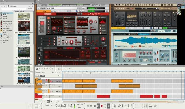 Propellerhead 发布 Reason 10(视频)