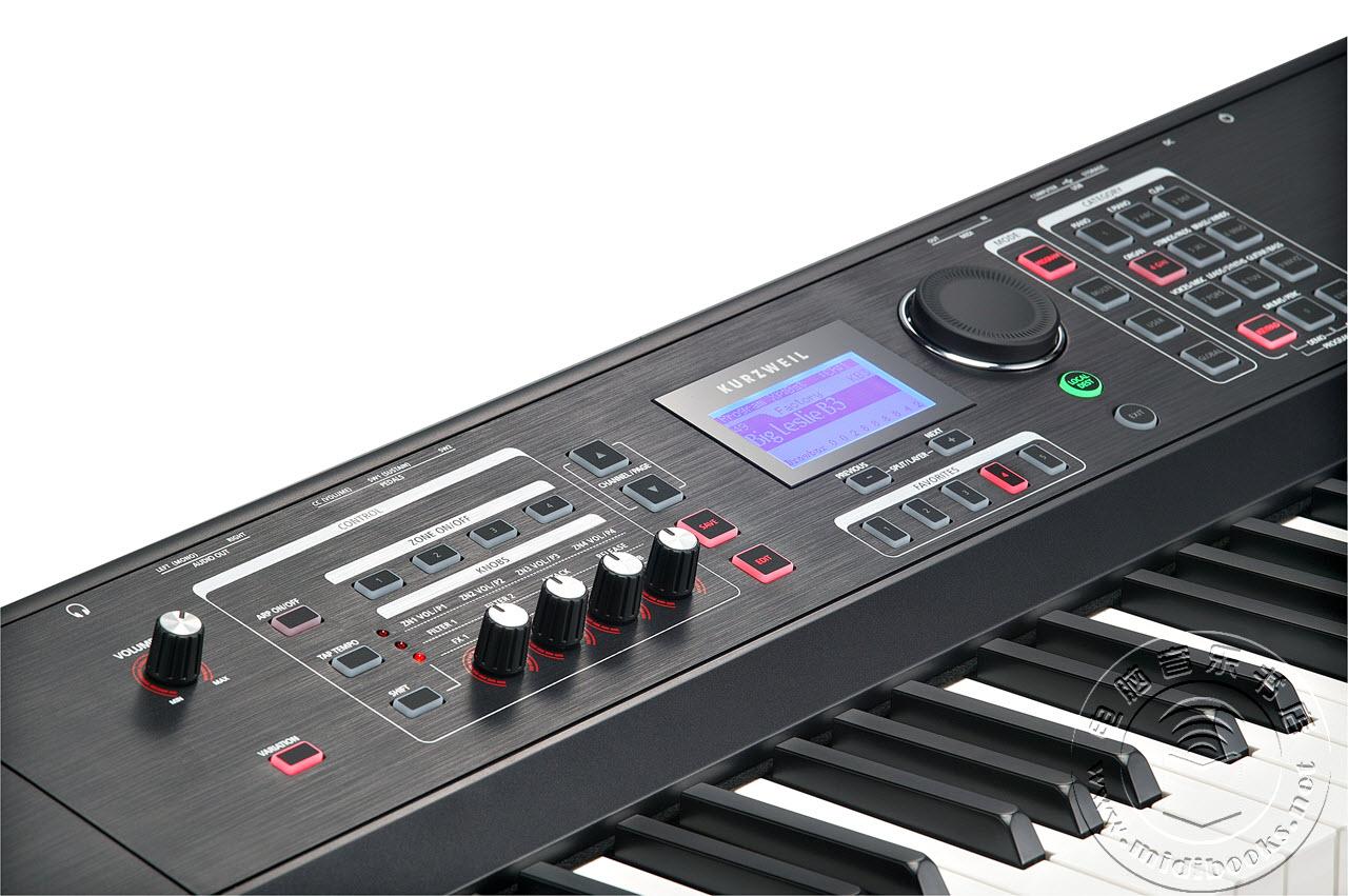 "KURZWEIL发布最新SP6舞台电钢琴 — ""简单而强大"""