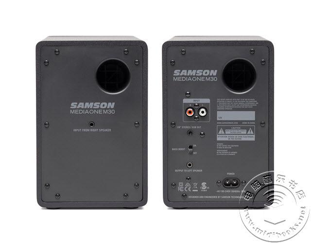 Samson(山讯)推出监听音箱新品Media One M30