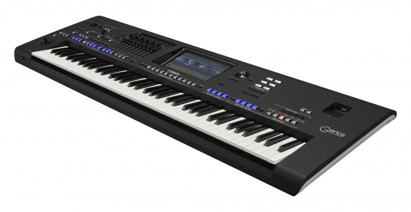 YAMAHA 正式发布下一代的编曲键盘工作站巨无霸 Genos(视频)