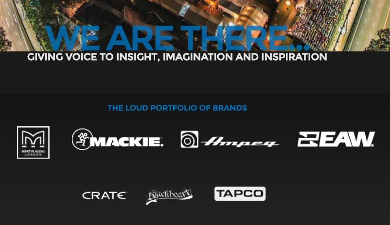 Mackie 所在的 Loud 集团被私募股权投资公司 Transom 资本集团收购,重新上市有望?