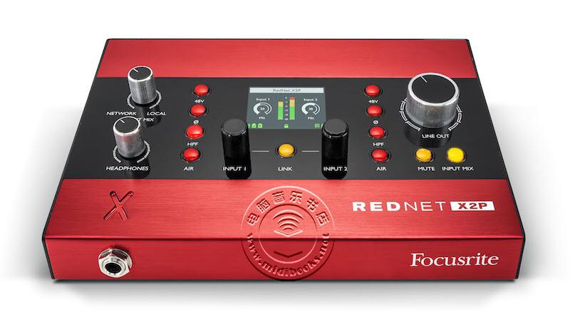 Focusrite 发布新的 RedNet X2P 网络音频接口