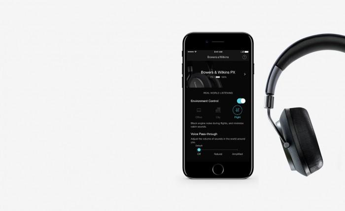 B&W最新的PX无线降噪耳机拥有自然直观控制功能