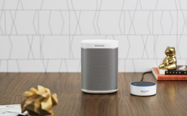 Sonos推智能音响:可同时接入谷歌亚马逊语音助手