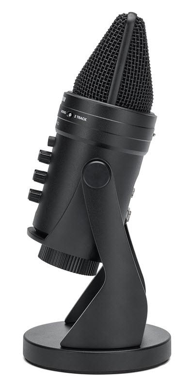 Samson(山逊)发布带有音频接口的 G-Track Pro 专业USB麦克风