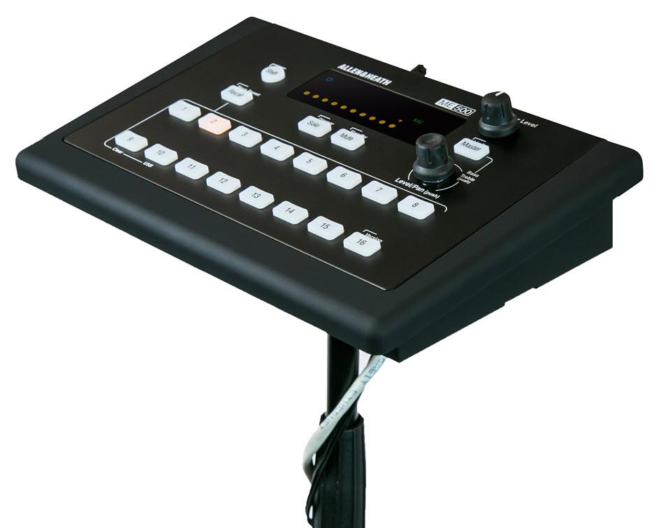 Allen & Heath 推出廉价 ME-500 个人调音台
