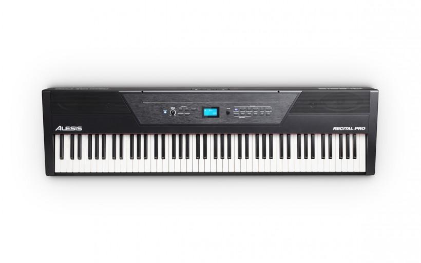 Alesis 发布 RECITAL PRO 88 键配重键盘电钢琴(视频)