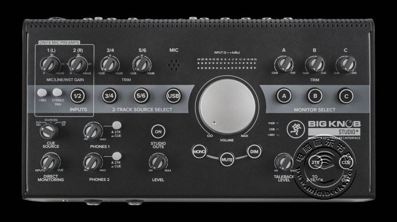 Mackie 新一代的 Big Knob 三款大旋钮监听控制器已经上市(视频)