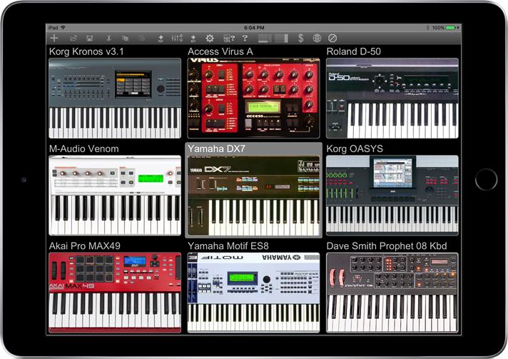 多乐器管理软件Midi Quest现在登录iPad,免费下载