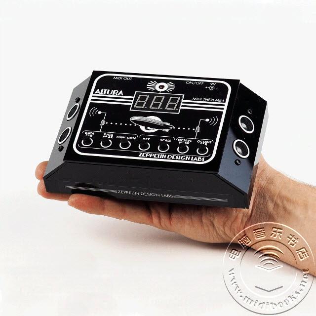会玩儿!摇动双手就可以制作MIDI……