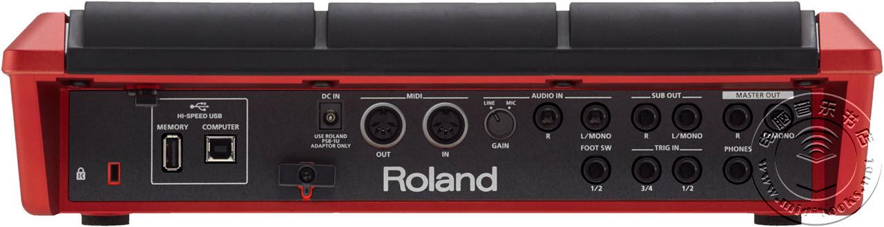 Roland(罗兰)发布 SPD-SX 打击垫特别版