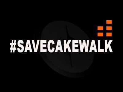 寻找接盘侠:广大 SONAR 用户发起『救救 Cakewalk』呼吁