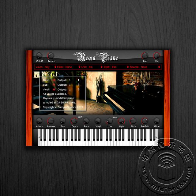 SampleScience的钢琴插件免费下载,可用于Mac和Windows系统