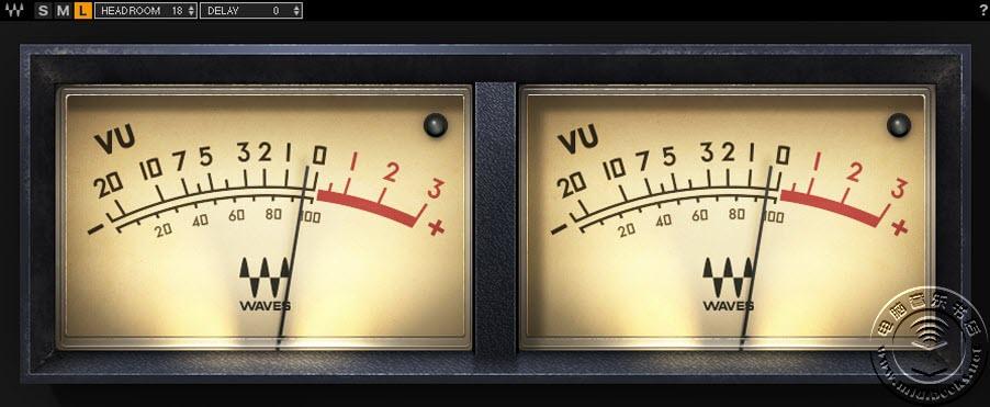 Waves发布免费的复古VU表插件(视频)