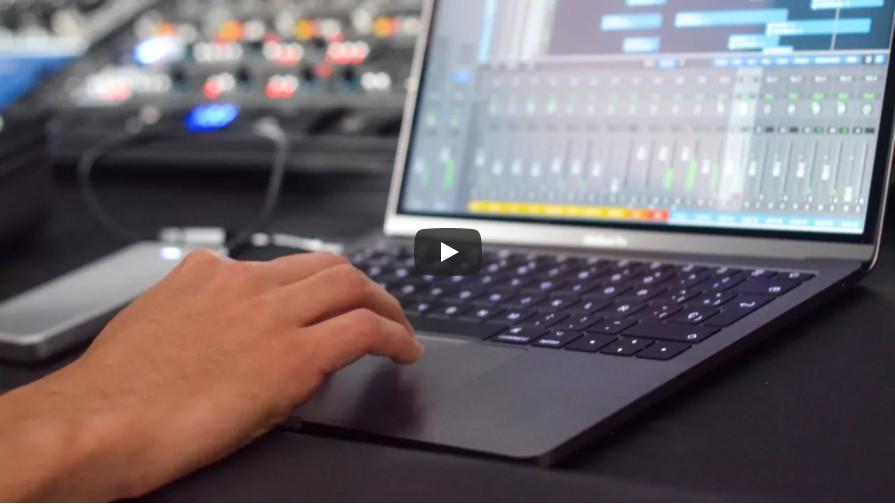 可以设置Mac电脑触控板作为MIDI控制器的程序