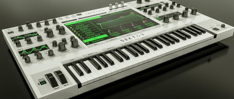 Initial Audio 发布新波表合成器 SEKTOR