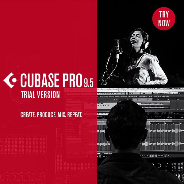 Steinberg 发布 Cubase 9.5 试用版,可全功能使用 30 天