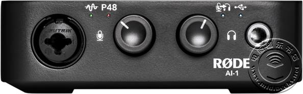 RODE 发布自己的第一款音频接口 AI-1