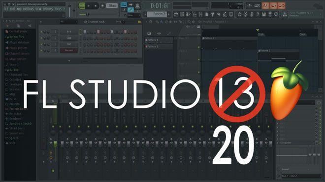 不按套路出牌:FL Studio 12 的升级版 FL Studio 20 将预示着二十周年发布