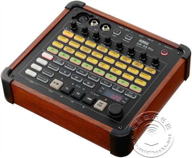 NAMM 2018:Korg 发布带有真实音色的节奏鼓机 KR-55 Pro