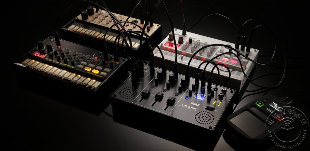 NAMM 2018:为了多个 Volca 玩家的幸福,Korg 推出了专用混音台 Volca Mix(视频)