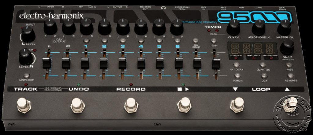 Electro-Harmonix 发布最强大的演奏循环控制器 95000(视频)