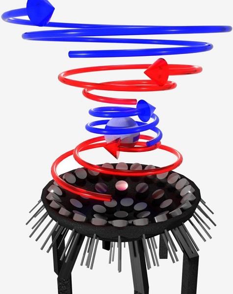 """""""牵引声波""""研究新突破:40kHz超声波让2CM球体实现悬停(视频)"""