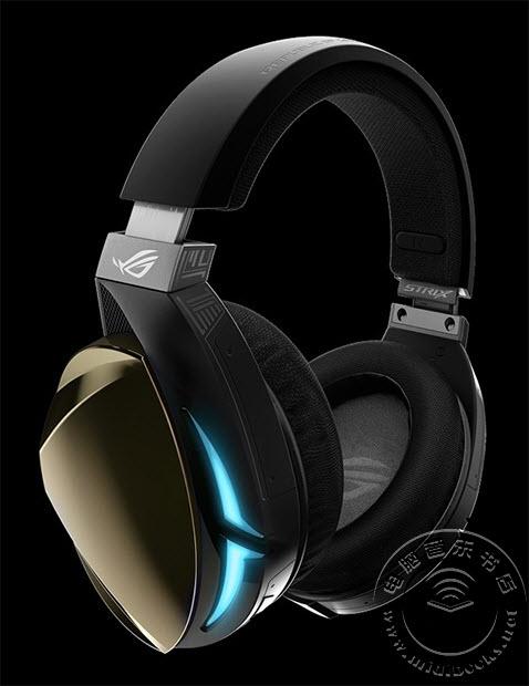 华硕发布ROG Strix Fusion 500电竞耳机新品:支持RGB LED灯效同步