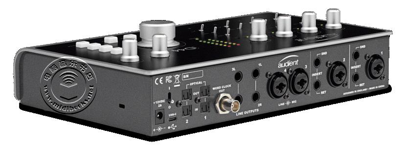 NAMM 2018:Audient 发布新的音频接口 iD44(视频)