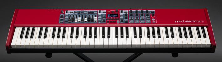 NAMM 2018:Nord 介绍 Electro 6 电子键盘(视频)