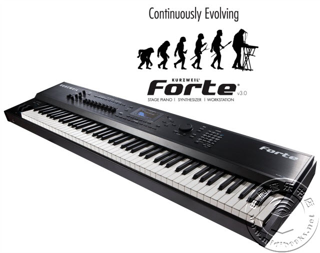 NAMM 2018:Kurzweil(科兹威尔)Forte电钢琴变身全功能音乐工作站