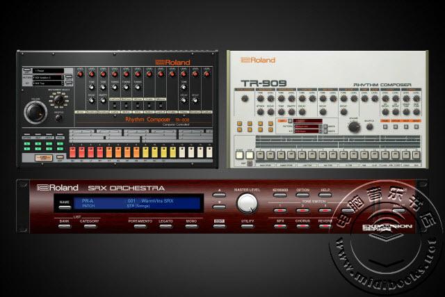 NAMM 2018:Roland(罗兰)发布TR-808和TR-909,专为罗兰云设计的虚拟乐器