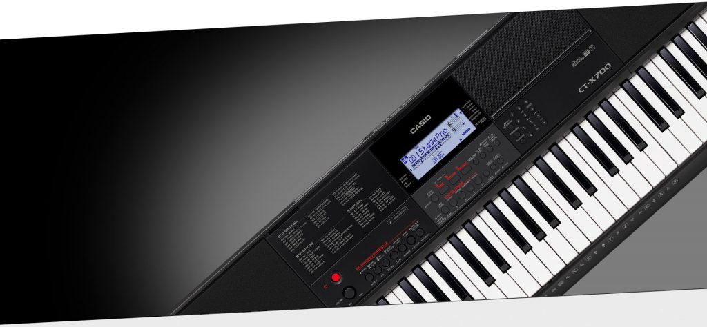 NAMM 2018:CASIO(卡西欧)发布CT-X系列高级编曲键盘