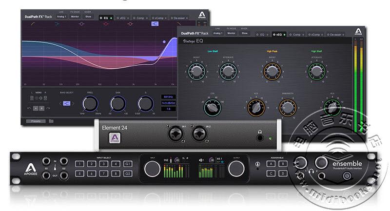 NAMM 2018:Apogee展示新的DualPath FX机架插件