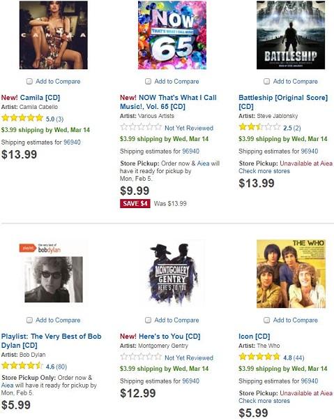 百思买将从7月开始停售CD:光盘时代已去