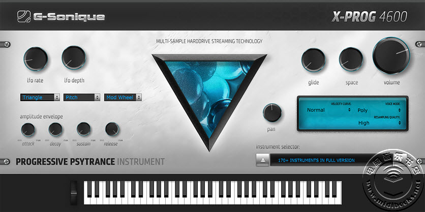 快速电子音乐风格制作利器插件 — X-Prog 4600