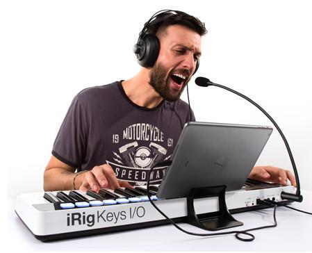 iRig Keys I/O:多合一音乐制作工作站,让你自由随行