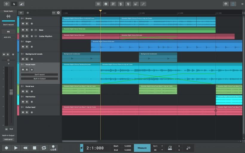 n-Track 正式发布 Studio 9 DAW 软件大型升级