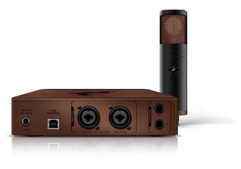 带建模话筒的 Antelope Audio Edge Strip: Discrete MP 双超线性话放上市