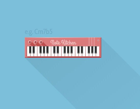 免费轻松学习和弦及音阶的在线小玩具