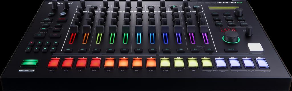 Roland 发布 TR-8S 采样鼓机,历代著名鼓机声音一网打尽还可以自己替换采样