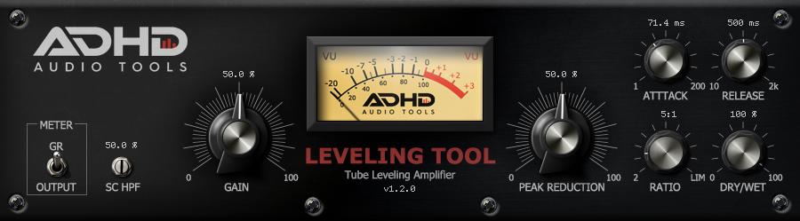 Leveling Tool — Mac和Windows系统下的人声压缩器免费下载